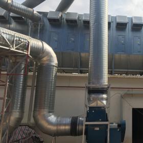 Hệ thống xử lý khói bụi HT01 - Hucafood